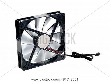 Computer Cooler. Isolated.