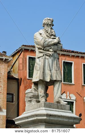 Niccolo Tommaseo Monument