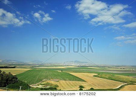 Tal der Jezreel von megiddo
