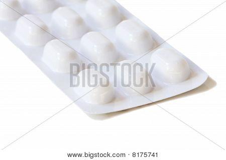 White Blister Pack Of Pills