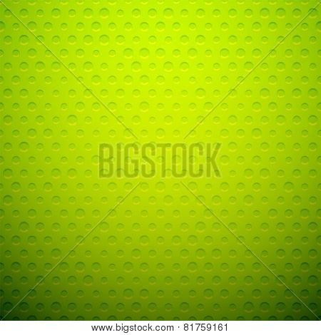 Green metal or plastic texture with holes