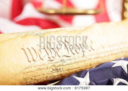 U.s. Constitution Concept