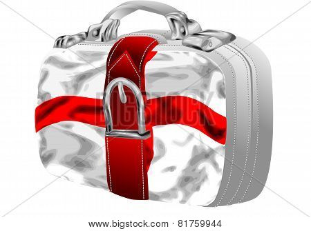 Bag With St George's Flag