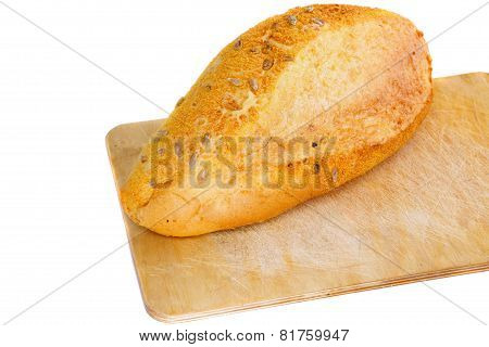 Fresh Loaf Of Bread . Isolated