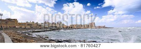 Alexandria, Seafront. Egypt