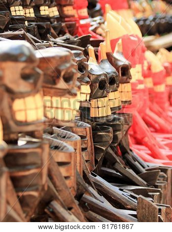 Scary Wooden Souvenirs