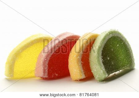 Jelly Candies In Four Colors