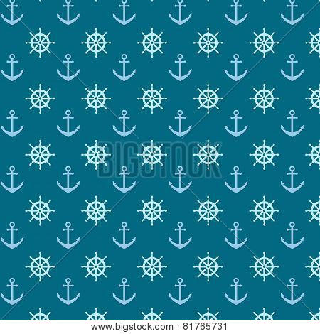 Pattern With Anchors And Helms