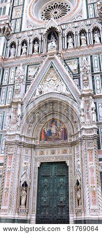 Duomo Santa Maria Del Fiore , Main Gates. Italy
