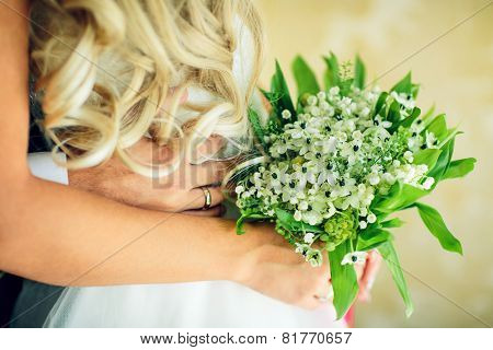 Bridal Bouquet With White Flowers