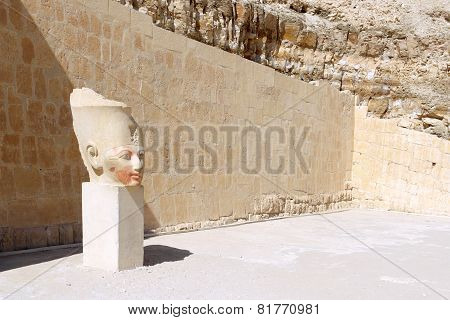 Statue Of Queen Hatshepsut . Luxor .egypt