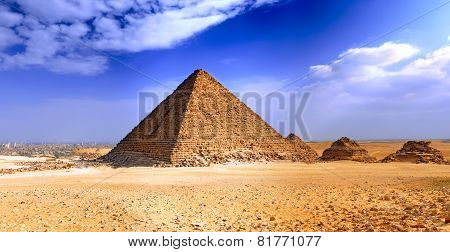 Great Pyramid Of Giza. Egypt