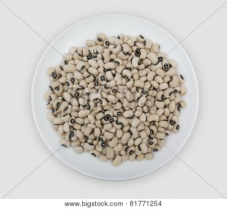 Plate Of Beans Of The Veneer Range