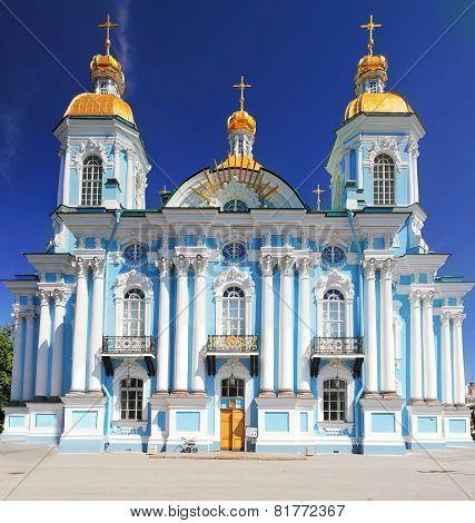 St. Nicholas Naval Cathedral . St. Petersburg