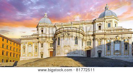 Santa Maria Maggiore Basilica, Roma