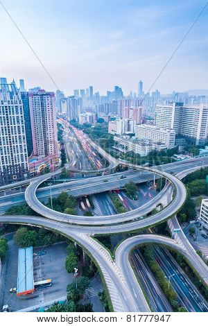 A Highway Interchange In Guangzhou