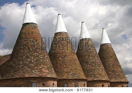 Oasthouse tops