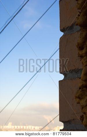 Brick wall cables