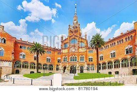 Hospital Sant Pau Recinte Modernista.