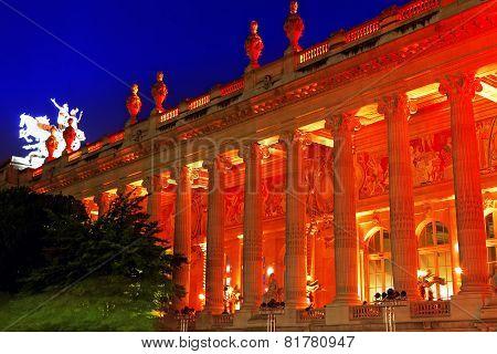 Grand Palais (grand Palace) In Paris, France.