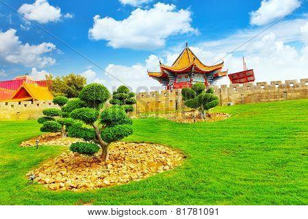 Chinese park.