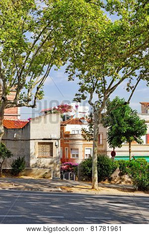 Typical landscapes and authentic Catalan cozy streets.