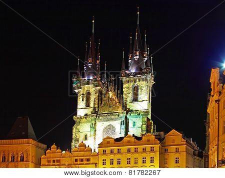 Church Of Our Lady-staromestska Square, Prague