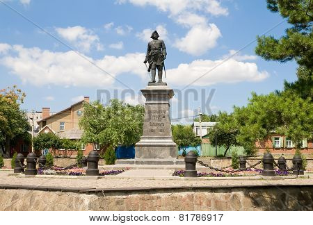 Monument Of Russian Emperor-peter I.