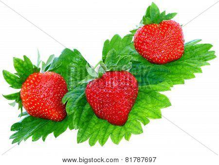 Strawberries .