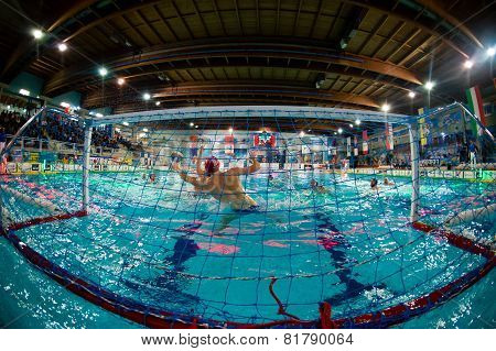 MILAN - JANUARY 30: Paolo Oliva in game BPM Sport Management - Como Nuoto on January 30, 2015 Milan
