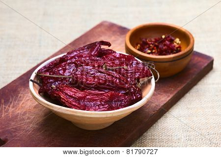 Dried Red Aji Chili Pepper