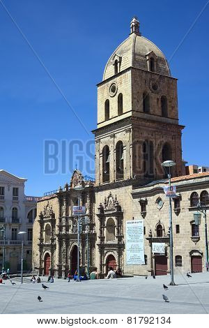 San Francisco Church in La Paz, Bolivia
