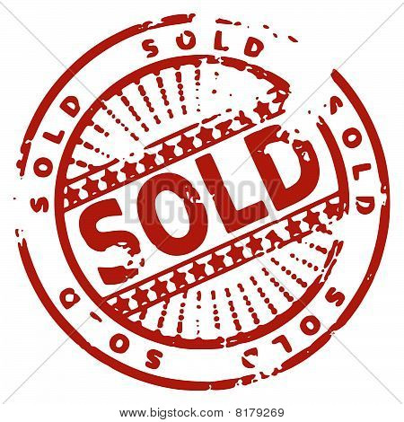 Rubber ink stamp - sold