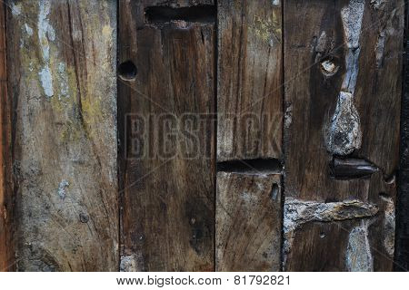Reclaimed old Wood Background