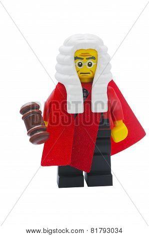 Judge Lego Minifigure