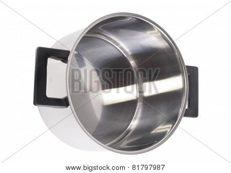 Saucepan , On White Background .isolated