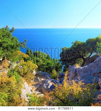 South part of Crimea peninsula