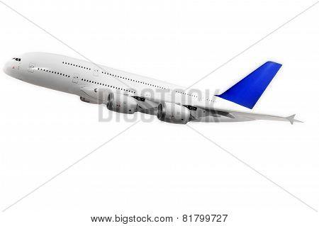 Modern airplane.