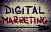 picture of guru  - Digital Marketing Concept Handwritten With Chalk  - JPG