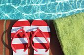 Flip-Flops von Edge Swimmingpool
