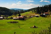 picture of barn house  - Clasic Rhodope mountain landscape - JPG