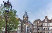 picture of patron  - Church dedicated to Saint Nicholas patron saint of Amsterdam in Netherlands - JPG