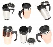 stock photo of thermos  - Collection  - JPG