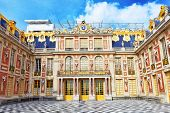 stock photo of palace  - VERSAILLES FRANCE  - JPG