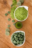 stock photo of chlorella  - Detox - JPG