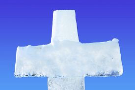 picture of baptism  - Ice cross for Baptism  - JPG