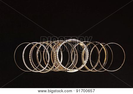 Big Set Of Woman's Bracelets