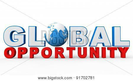 3d global opportunity text