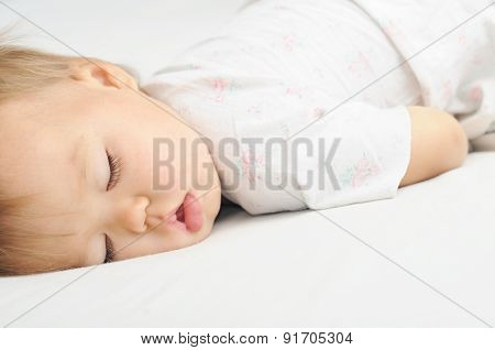 Baby Sleeping Portrait
