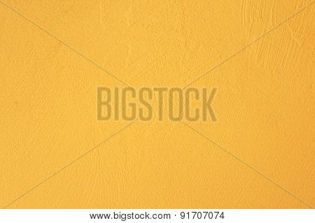 Yellow Wall  Texture Background